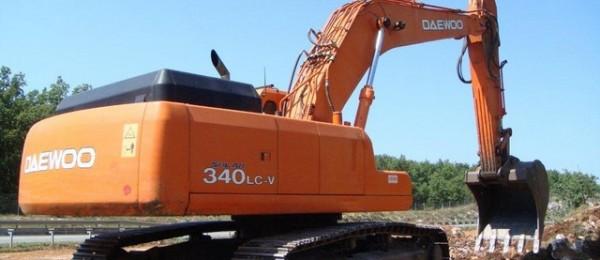 DAEWOO SOLAR 340LC-V