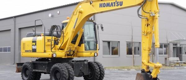 Komatsu PW 160 -7 16t  2008