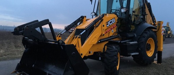 JCB 3 CX ECO SITEMASTER god.2013